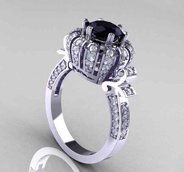Wedding Rings Black Diamonds 16 Marvelous Advertisement