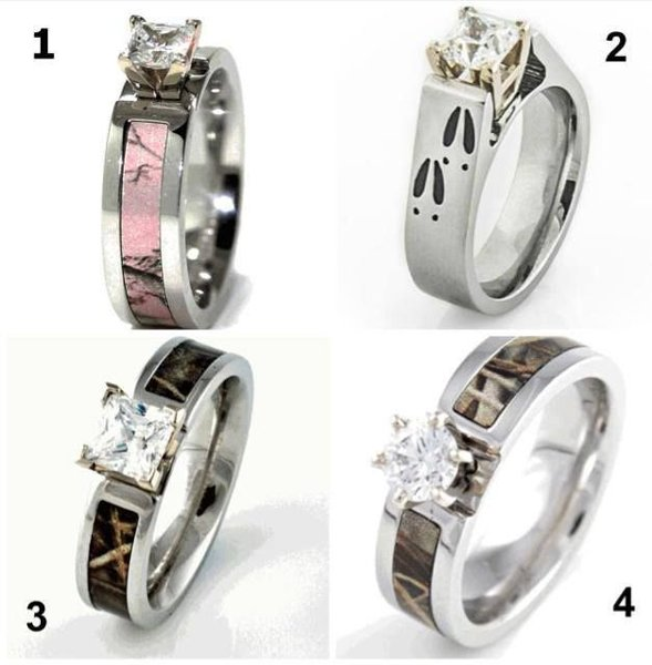 New Designs Of Camo Wedding Rings