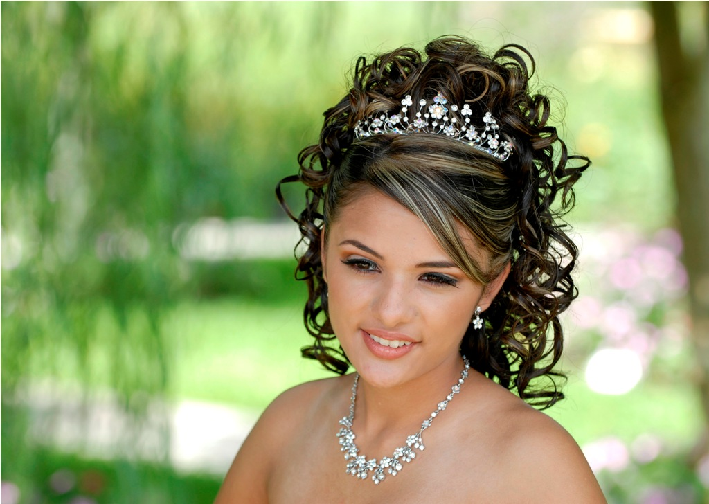 Quinceanera Hairstyle : Quinceanera Hairstyles For Damas