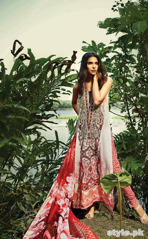 So Kamal Lawn Dresses 2015 By Ayesha Hashwani 12