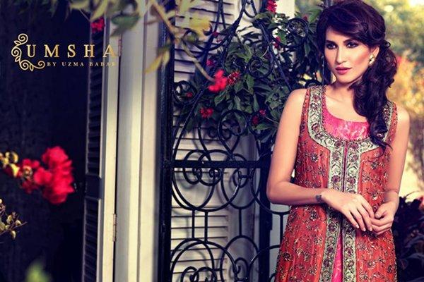Umsha By Uzma Babar Bridal Dresses 2015 For Women 0010