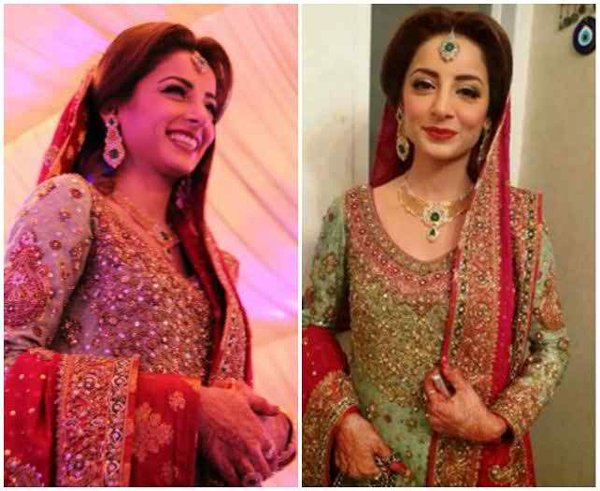 Which Pakistani TV Actress Looks Beautiful On Her Wedding day 002