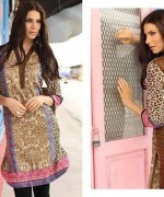 ZS Textile Embroidered Lawn Collection 2015 For Women 001