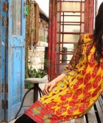 ZS Textile Embroidered Lawn Collection 2015 For Women 009