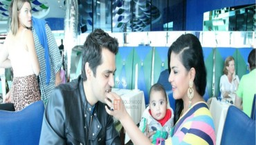 birthday party of veena malik