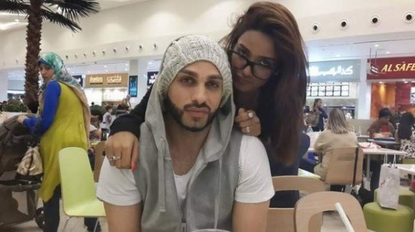 mathira with her husband