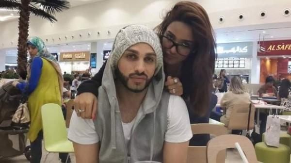 mathira with her husband