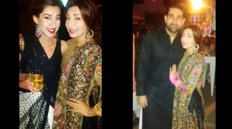 pakistani actress ayesha khan having fun