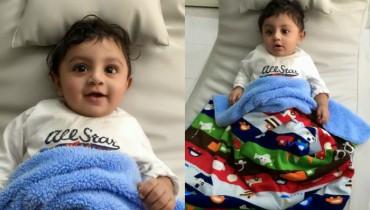 pakistani actress mathira with her baby