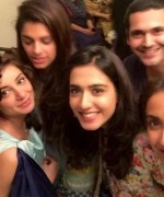 sarwat gillani and fahad mirza party pictures here