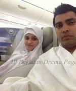 umar akmal with wife