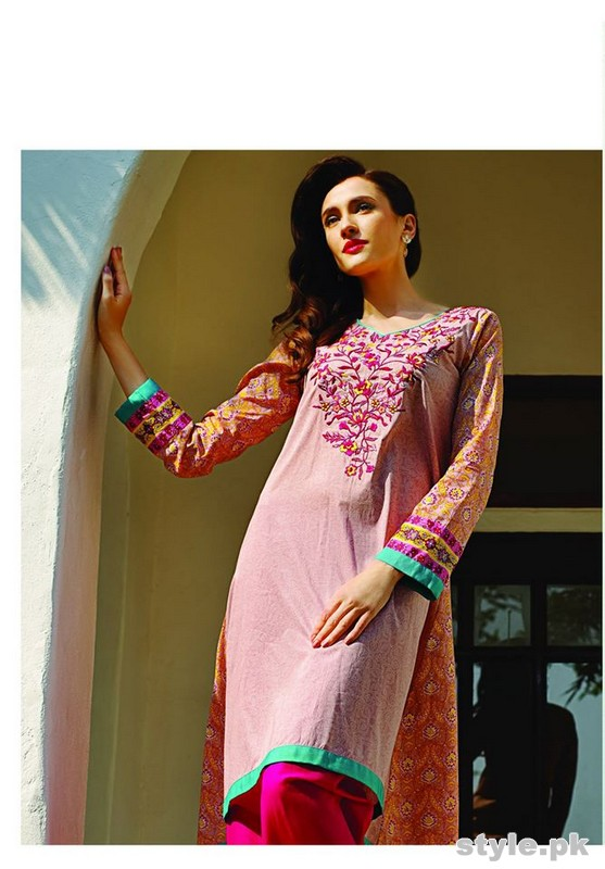 Al-Karam Summer Lawn Dresses 2015 Volume 2 6