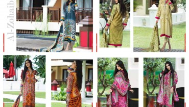 Al Zohaib Textile Monsoon Lawn Collection 2015 Volume 2 For Women