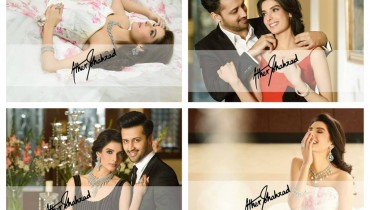 Atif Aslam And Saeeda Imtiaz Photoshoot For Damas