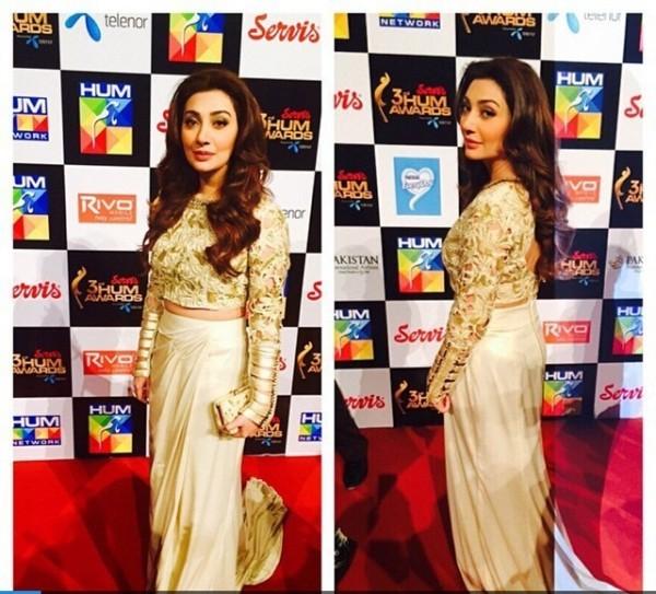 Ayesha Khan at hum awards