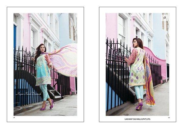 Farah Talib Aziz Lawn Collection 2015 By LSM Fabrics 0010