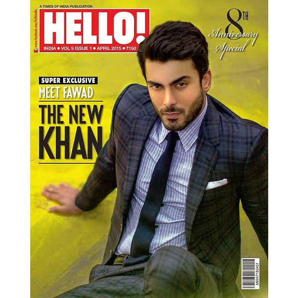 Fawad Khan On Cover Of Hello Magazine India
