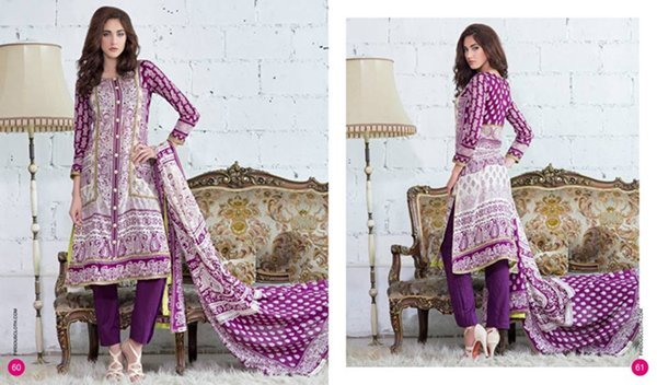 Firdous Cloth Mills Lawn Collection 2015 Volume 2 008