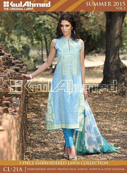 Gul Ahmed Summer Collection 2015 Volume 2 For Women 0012