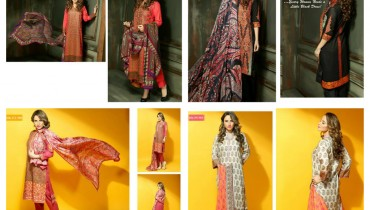 Hadiqa Kiani Fabric World Lawn Collection 2015 Volume 2 For Women