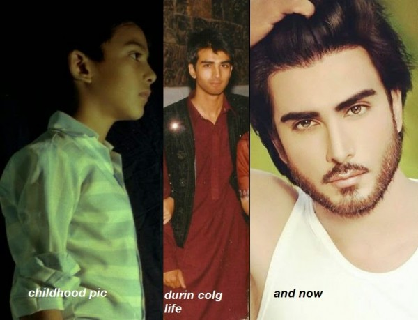 Imran abbas childhood and teenage