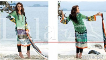 Lala Vintage Lawn Dresses 2015 For Summer 4