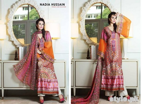d0fd3d00b Latest Pakistani Casual Dresses Designs 2015 For Girls