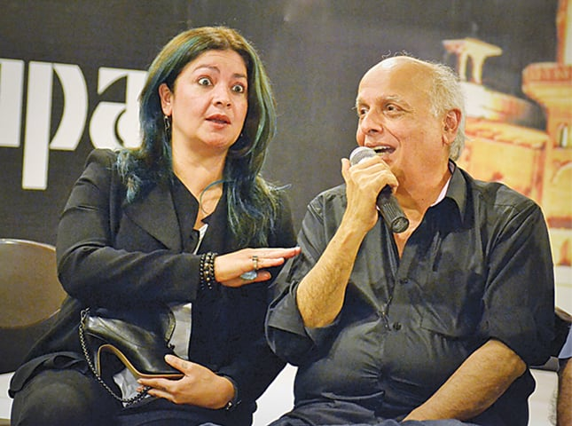 Mahesh and Pooja Bhatt for International Theatre Festival