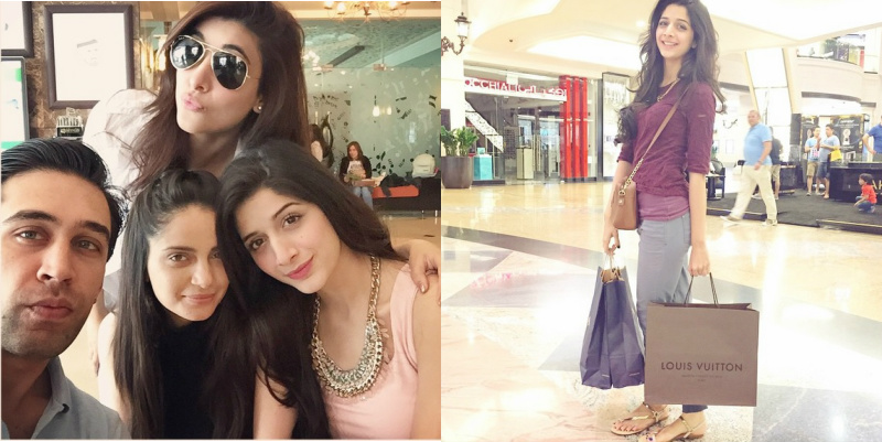Mawra And Urwa Chilling Out In Dubai