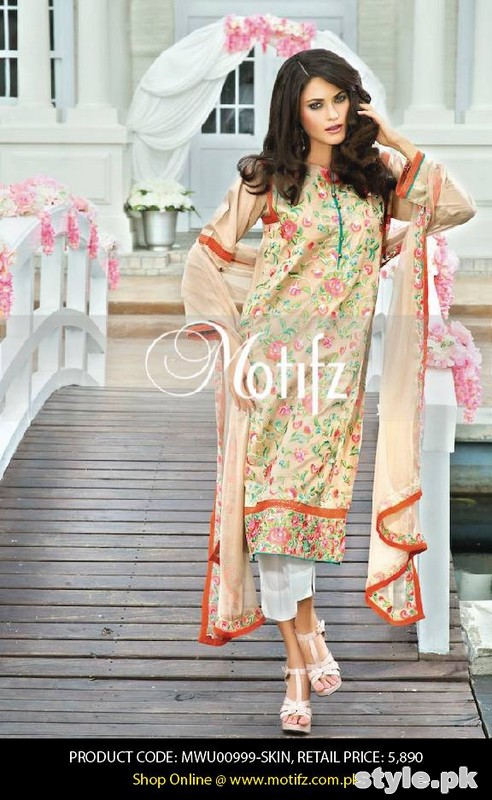 Motifz Lawn Dresses 2015 Volume 2 For Summer 2