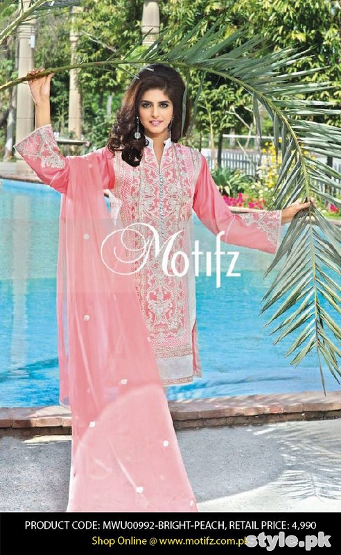 Motifz Lawn Dresses 2015 Volume 2 For Summer 7