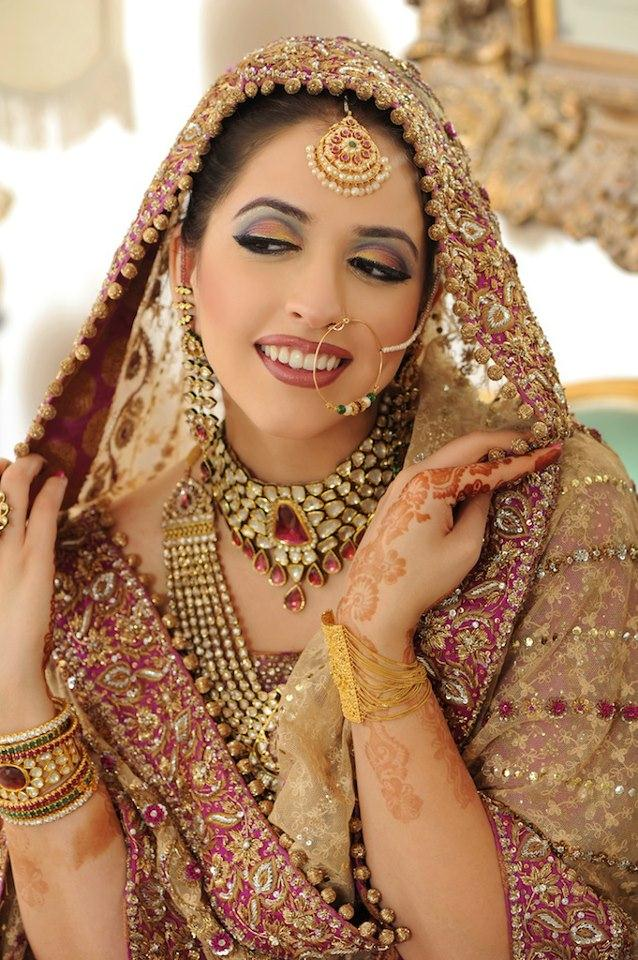 Get Inspired From Pakistani Bridal Makeup Types