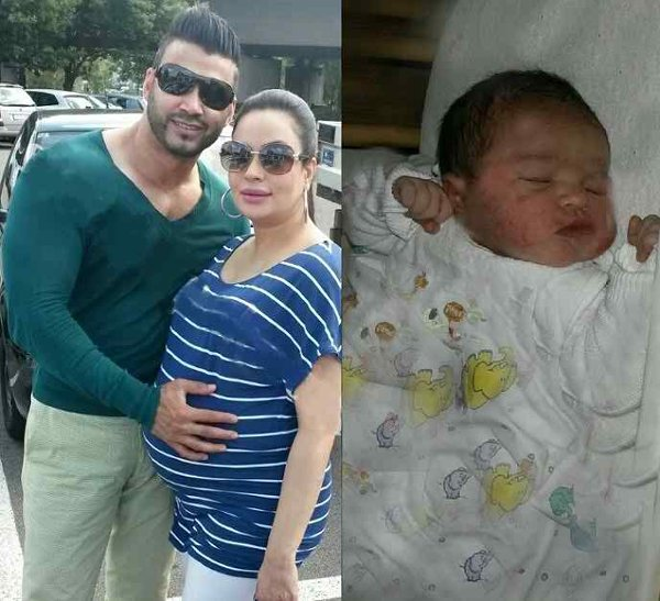 Pakistani Celebrities New Born Babies in 2014 (Pictures)