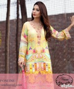 Saadia Asad Summer Dresses 2015 For Girls 11