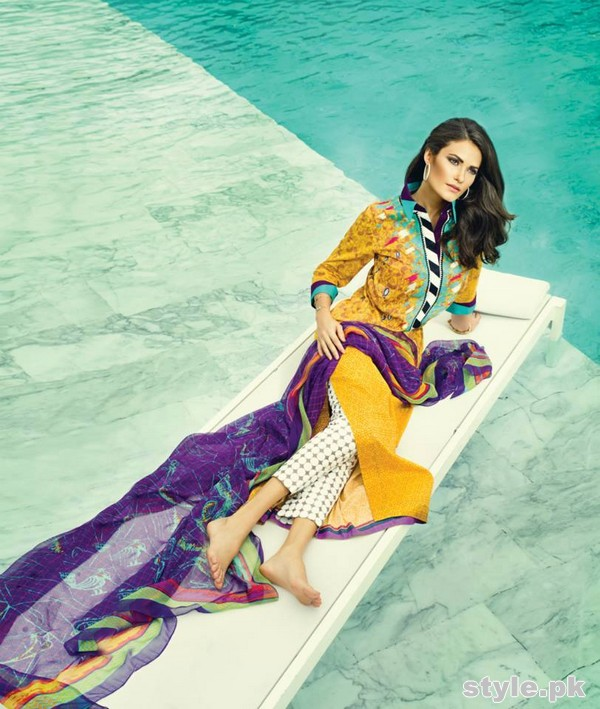 Sania Maskatiya Lawn Dresses 2015 For Summer 10