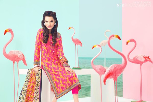 Satrangi By Bonanza Prêt Wear Collection 2015 For Women