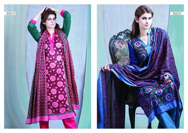 Sitara Textiles Sapna Lawn Collection 2015 For Women 009