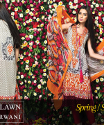 Zeniya Lawn Collection 2015 By Deepak Perwani 001