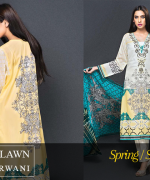 Zeniya Lawn Collection 2015 By Deepak Perwani 0017