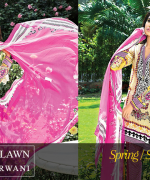 Zeniya Lawn Collection 2015 By Deepak Perwani 0018
