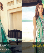 Zeniya Lawn Collection 2015 By Deepak Perwani 0019