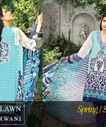 Zeniya Lawn Collection 2015 By Deepak Perwani 002