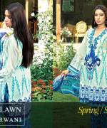 Zeniya Lawn Collection 2015 By Deepak Perwani 009