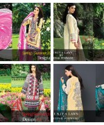 Zeniya Lawn Collection 2015 By Deepak Perwani