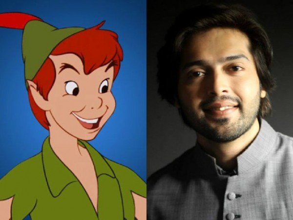 fahad mustafa as peter pan