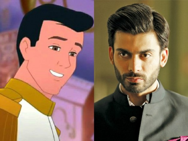 fawad khan as prince charming