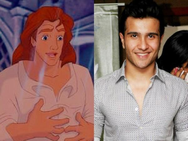 feroze khan as beast Pakistani Actors As Disney Heroes