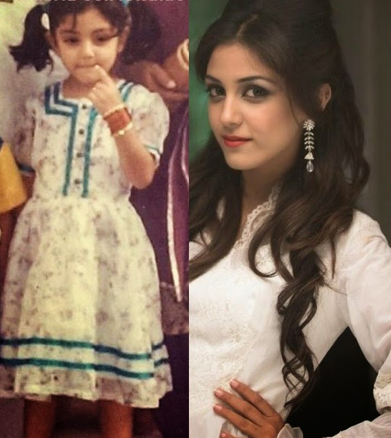 maya ali childhood picture Pakistani Celebrities Childhood Teenage and Present Pictures