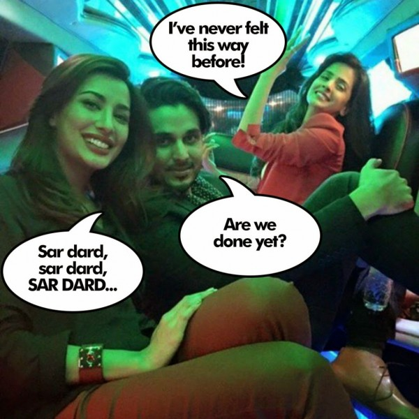mehwish hayat ahsan khan and saba qamar