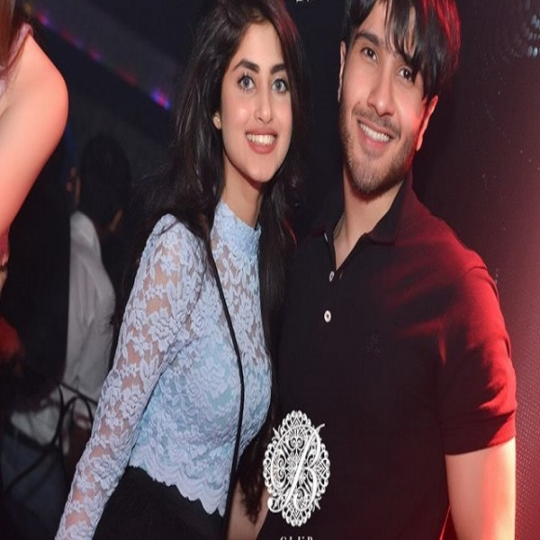 sajal ali and feroze khan in a night party